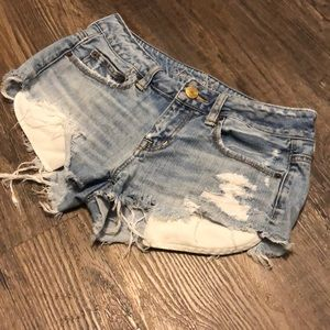 American Eagle Cutoff Jean Shorts